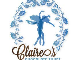 "#21 untuk Design a Logo for ""Claire's Chocolate Twist"" oleh Shexane"