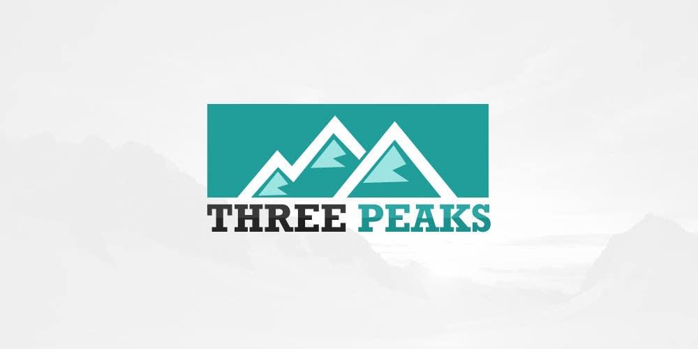 Kilpailutyö #332 kilpailussa Three Peaks Logo Design