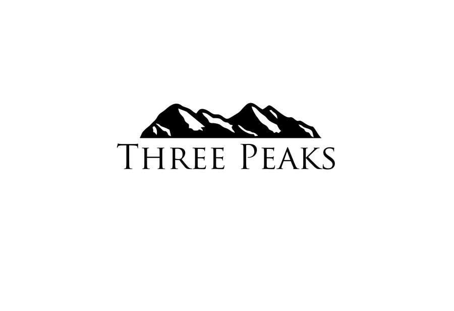Kilpailutyö #389 kilpailussa Three Peaks Logo Design