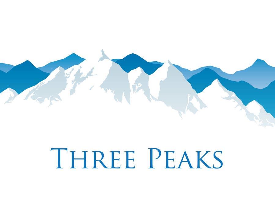 Kilpailutyö #457 kilpailussa Three Peaks Logo Design