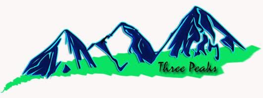 Kilpailutyö #285 kilpailussa Three Peaks Logo Design