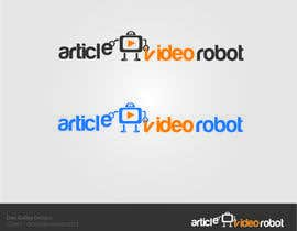 nº 47 pour Design a Logo for ArticleVideoRobot par dongulley