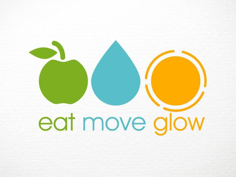 Konkurrenceindlæg #                                        387                                      for                                         Logo Design for EAT | MOVE | GLOW
