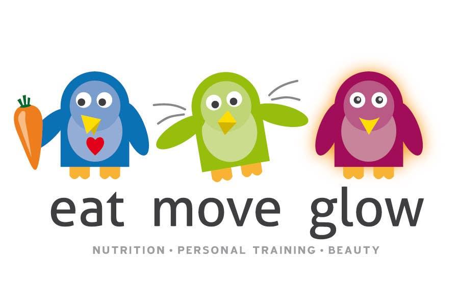 Konkurrenceindlæg #                                        320                                      for                                         Logo Design for EAT | MOVE | GLOW