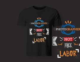 #29 for Design a Logo T-shirt for Photographers Movement by Mustafawadiwala