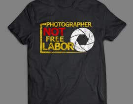 #33 for Design a Logo T-shirt for Photographers Movement by areztoon