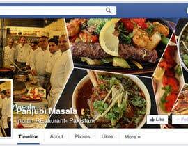Nro 2 kilpailuun Design a Facebook cover photo for an indian restaurant käyttäjältä ChowdhuryShaheb