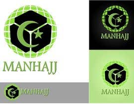 #344 para MANHAJJ Logo Design Competition por a183rt