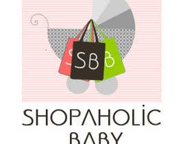 nº 8 pour Design a Logo for a baby and children's store called shopaholic Baby par hayleym91