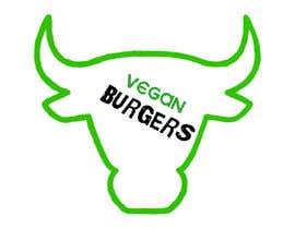 gabrieladsantos tarafından design a logo veganburgers için no 32