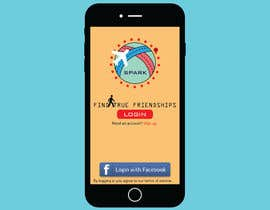 #19 for Design a friend finding iPhone app Mockup by unknownpros