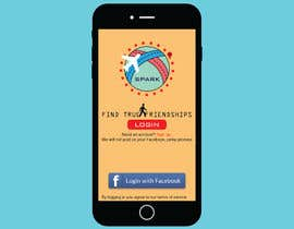 #37 for Design a friend finding iPhone app Mockup by unknownpros
