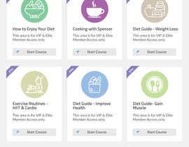 Nro 121 kilpailuun Design a Website Mockup - Training Course Platform käyttäjältä CodeWorth