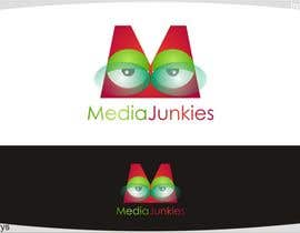 #134 para Logo Design for Media Junkies por innovys