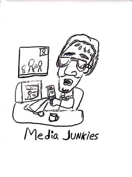 #128 for Logo Design for Media Junkies by wardv