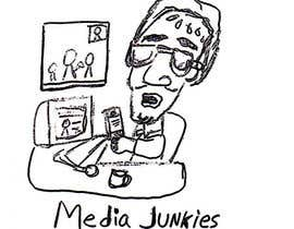 #128 untuk Logo Design for Media Junkies oleh wardv