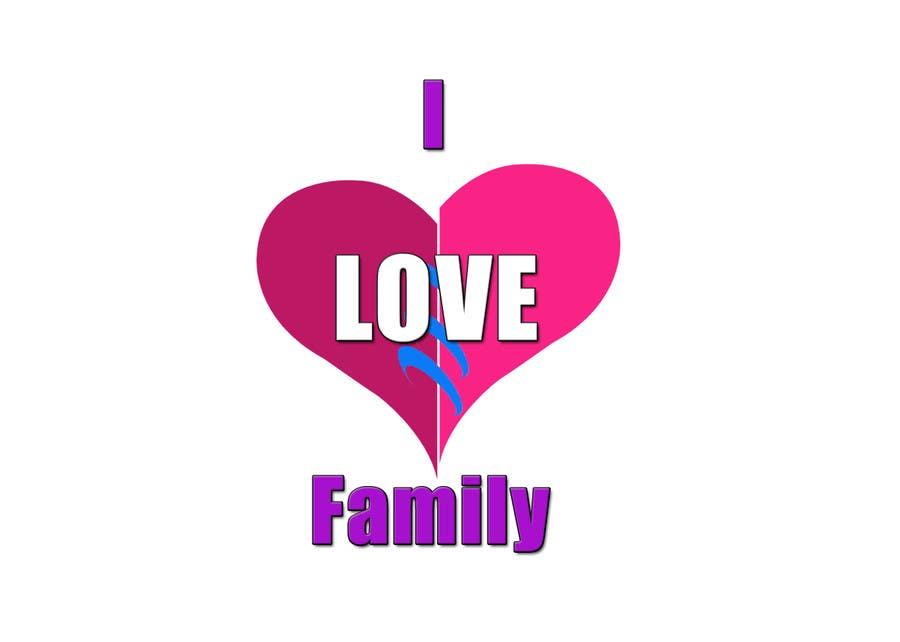 Entry 2 By Gopalnitin For I Love Family Freelancer