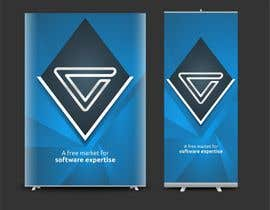 #4 for Design a Large-scale Banner for a Conference Booth by Iddisurz