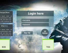 Nro 4 kilpailuun Design MMORPG landing page käyttäjältä mdmonirhosencit