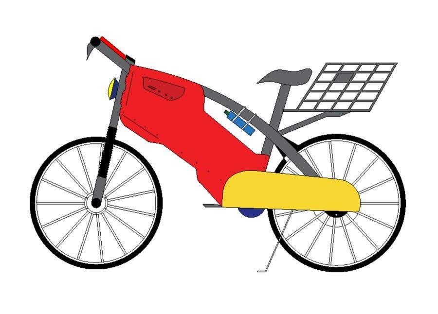 Contest Entry #                                        9                                      for                                         Budget E-Cycle Exterior Body design