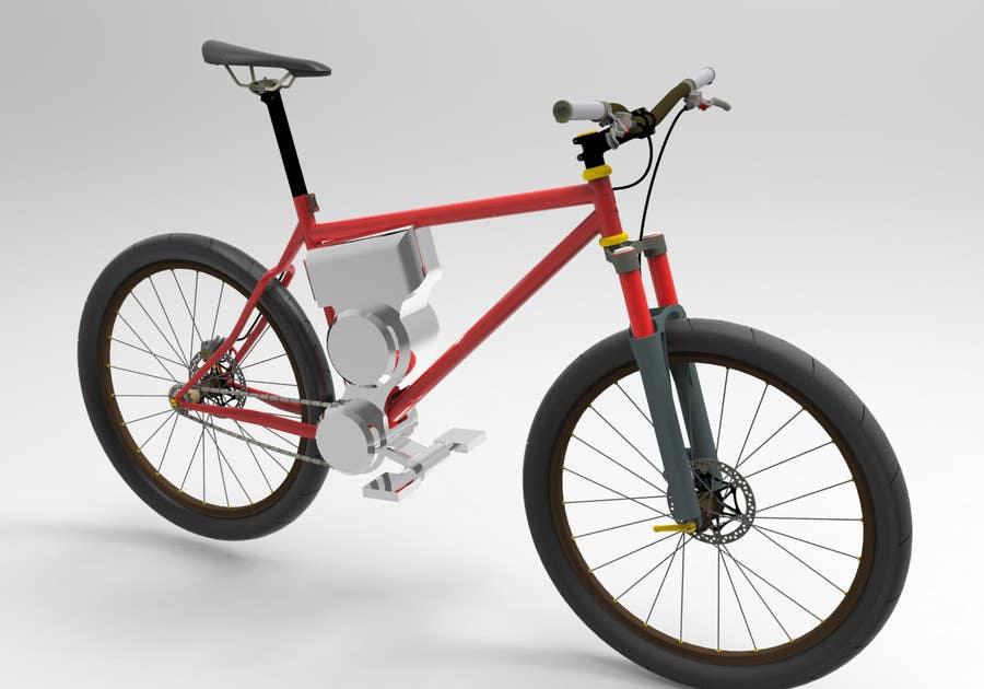 Contest Entry #                                        5                                      for                                         Budget E-Cycle Exterior Body design