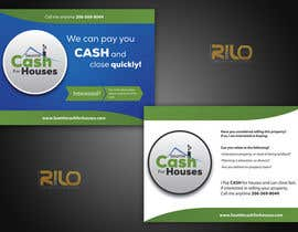 #7 for Design a stationary Post Card for US Real Estate Investment Firm by rilographics