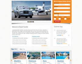 nº 7 pour Website design for Airport Transfer par iNoesis
