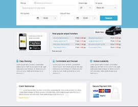 #19 for Website design for Airport Transfer by uniqueclick