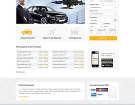 nº 20 pour Website design for Airport Transfer par uniqueclick
