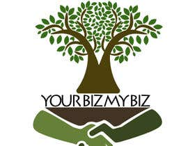 "jeffnelshabong tarafından I need a logo designed for ""Your Biz My Biz"" best design will get a lot more work. -- 1 için no 10"