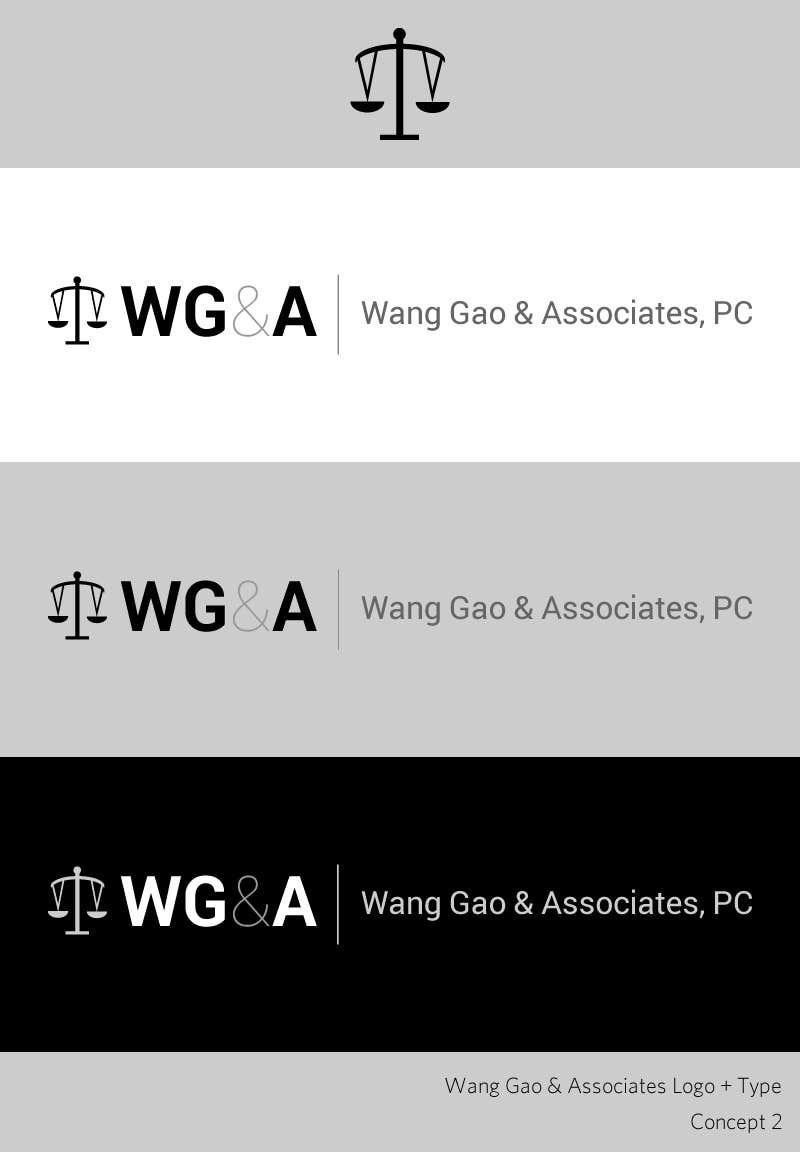 Contest Entry #44 for Design a Logo for Wang Gao & Associates, PC.