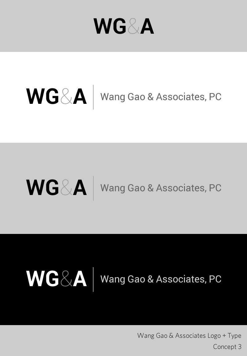 Proposition n°45 du concours Design a Logo for Wang Gao & Associates, PC.