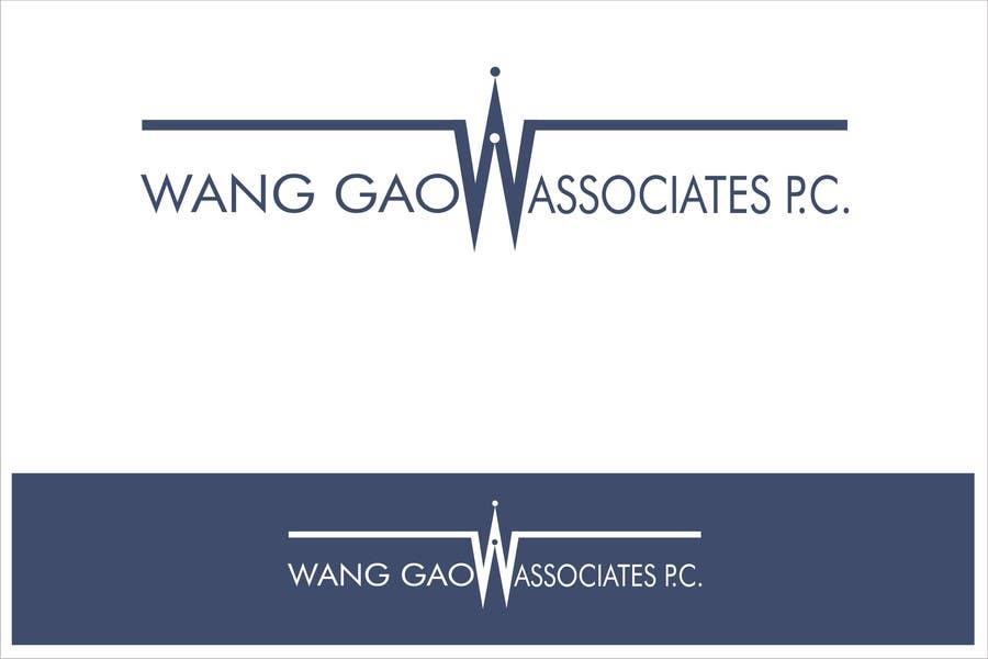Contest Entry #134 for Design a Logo for Wang Gao & Associates, PC.