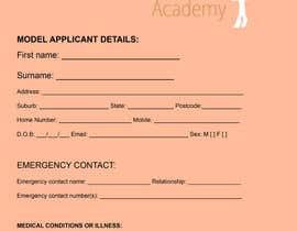 Nro 5 kilpailuun Design application form käyttäjältä itsr22