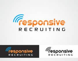 #51 for Design a Logo for Responsive Recruiting by vishwagfx