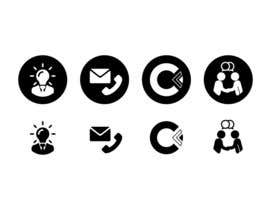 #7 for Design 4 Icons for our Contact us page by NikWB
