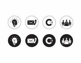 #34 for Design 4 Icons for our Contact us page by DesignApt