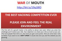 Entry # 20 for WOM - Prove your growth hacking skills (1st place) by