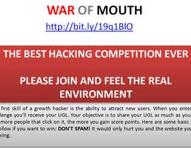 #20 for WOM - Prove your growth hacking skills (1st place) by vw8025598vw