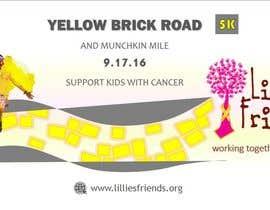 Nro 27 kilpailuun Yellow Brick Road 5K Banner/Billboard käyttäjältä wendermezini