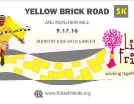 Nro 30 kilpailuun Yellow Brick Road 5K Banner/Billboard käyttäjältä wendermezini