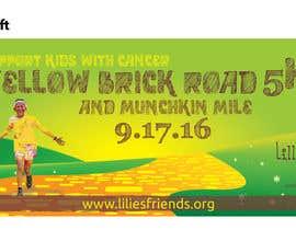 Nro 18 kilpailuun Yellow Brick Road 5K Banner/Billboard käyttäjältä stepablo