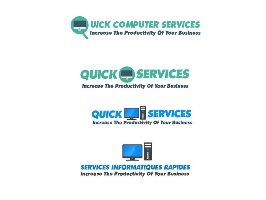 Proposition n°1 du concours Design a Logo for Quick Computer Services