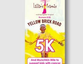 Nro 9 kilpailuun Yellow Brick Road 5K Race Brochure käyttäjältä niyajahmad