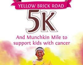 Nro 6 kilpailuun Yellow Brick Road 5K Race Brochure käyttäjältä kunjanpradeep