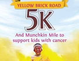 Nro 10 kilpailuun Yellow Brick Road 5K Race Brochure käyttäjältä kunjanpradeep