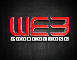 #32 untuk Design a Logo for WE3 Productions oleh SeelaHareesh