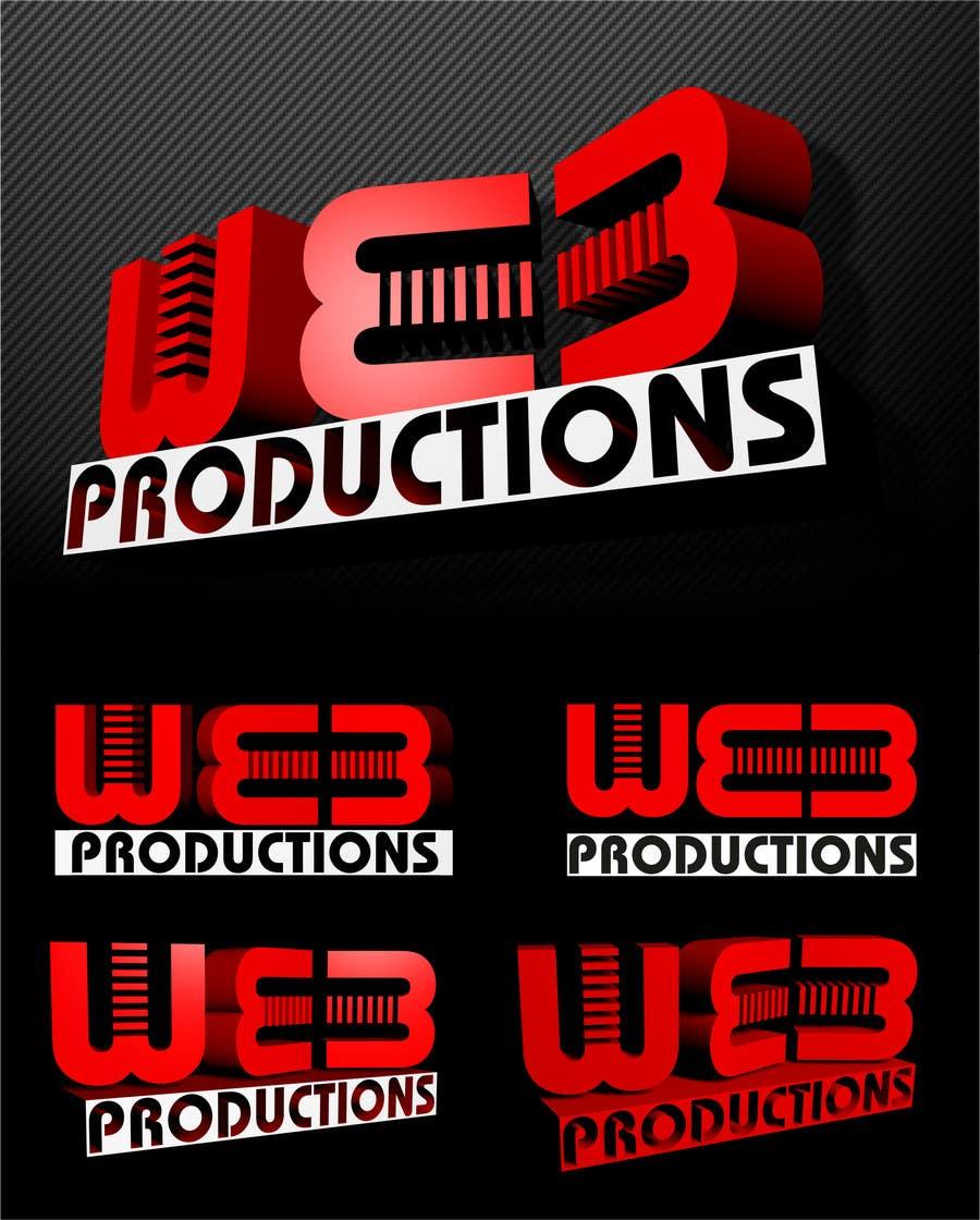 Penyertaan Peraduan #42 untuk Design a Logo for WE3 Productions