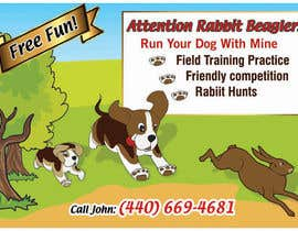 #25 para Beagles Chasing Bunny por rajnandanpatel