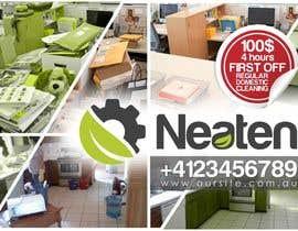 Nro 11 kilpailuun Design a Flyer for our Domestic Cleaning Promotion käyttäjältä designciumas